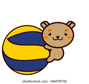 Volleyball and Animal Series