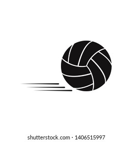 Volleyball icon. Game and sport, ball sign.