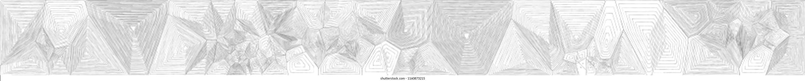Voronoi handdrawn pattern no 1