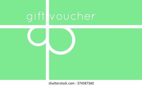 Voucher gift design