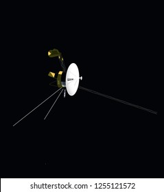 The Voyager Space probe.
