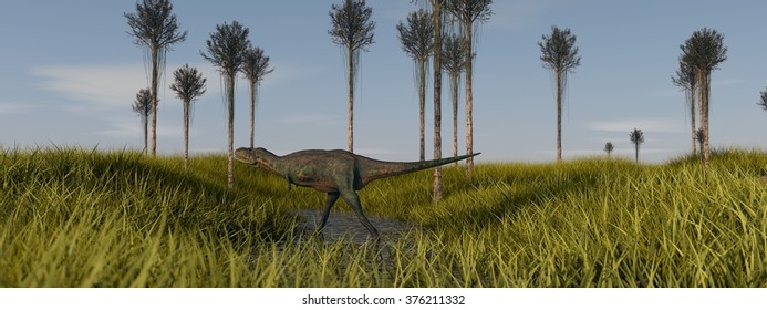 walking aucasaurus