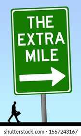 Walking the extra mile and reaching target