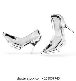 Walking Glass Slippers