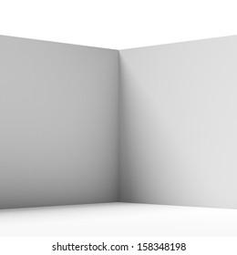 wall corner isolated