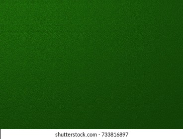 Wall dark green color. Metallic texture dark green background.