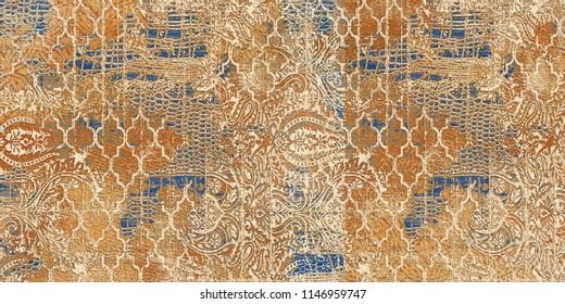 Wall Matt Abstract Pattern Texture  Decretive Tile Design.