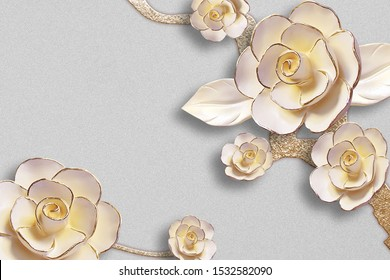 wall mural backdrop 3d background