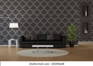 Living Room Wallpaper Images Stock Photos Vectors Shutterstock