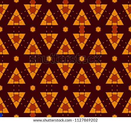 Wallpaper In The Style Of Baroque Gold And Colored Texture Floral Ornament Retro