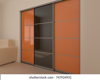 Sliding-door Wardrobe Images, Stock Photos & Vectors | Shutterstock