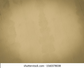 Warm Artist Paper Texture. Green Watercolor Paint. Brown Faded Parchment. Gray Warm Dirty Art Canvas. Cream Tan Paper Texture. Crepe Grey Sepia Retro Style Cream Worn Parchment.