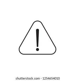 Warning, sign icon. Signs and symbols icon can be used for web, logo, mobile app, UI, UX