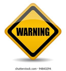 Warning sign illustration