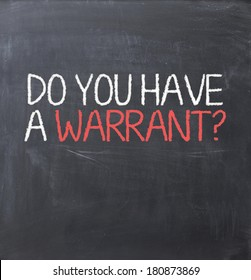 Warrant authorization