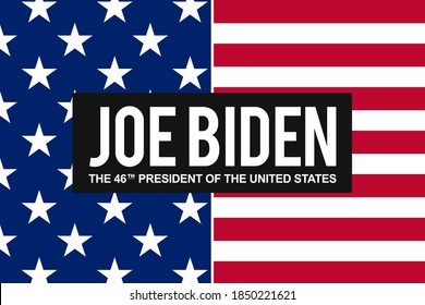 Washington DC, US 08/11/2020: Congratulations to democrat Joe Biden the 46th president of the United States. New President of the US elected in 2020