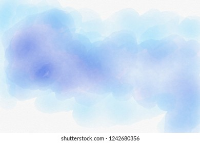 water color on white paper, abstract background