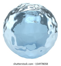 Water Globe - Isolated