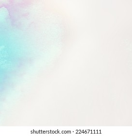 watercolor, abstract background