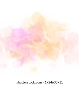 Watercolor abstract background texture art illustration