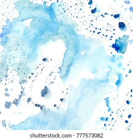 Watercolor abstract background,hand painted
