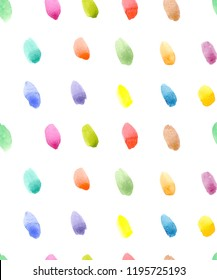 Watercolor background, colored spots