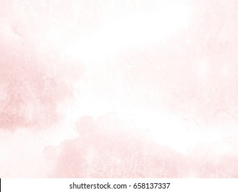 Watercolor background texture soft pink - abstract morning light