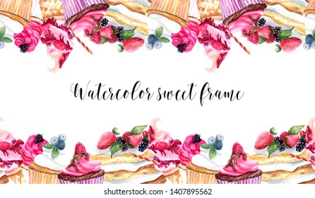 Free Clipart Dessert Borders   Free Images at Clker.com - vector clip art  online, royalty free & public domain