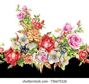 Fiori Watercolor.Fiori Watercolor Images Stock Photos Vectors Shutterstock