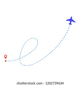 watercolor geolocation and aircraft