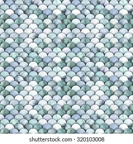 Watercolor gray scales. Abstract seamless pattern