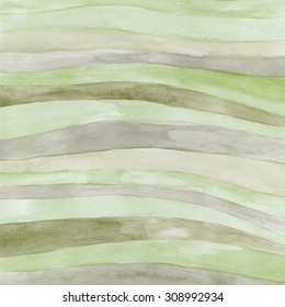 Watercolor hand painted background. Abstract multicolor texture with waves