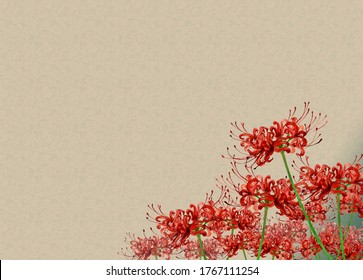Watercolor illustration of Cluster amaryllis