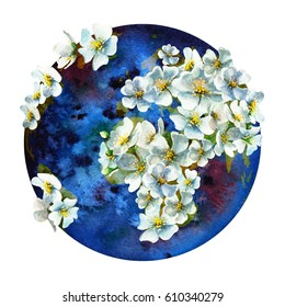 Watercolor International Mother Earth Day Card