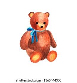 Watercolor kid toy - bear
