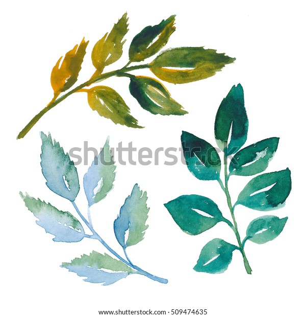 And Svg Branch - Leaf Branch Black Clipart - Png Download (#5361471) -  PinClipart