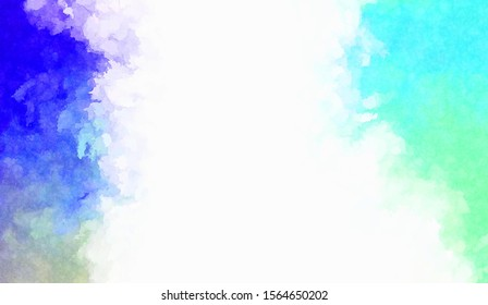 Watercolor painted background. Abstract Illustration wallpaper. Brush stroked painting. 2D Illustration.