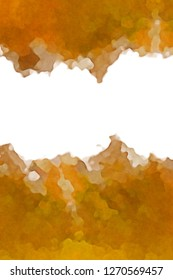 Watercolor paper background. Abstract Painted Illustration. Brush stroked painting.