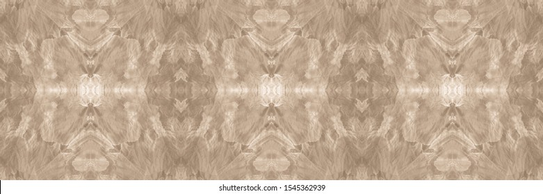 Watercolor Pattern On Paper Texture. Handkerchief Patterns. Street Style. Patchwork Chevron. Blur Beige, Pale On Old Paper. Abstract Peru Stylized Ornament.