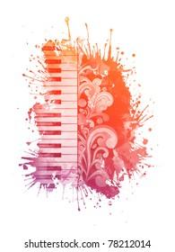 Watercolor Piano