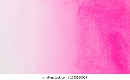 watercolor  pink rose gradient color  background. hand draw illustration . color like magenta, fuchsia, honeysuckle,