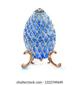 watercolor precious egg box