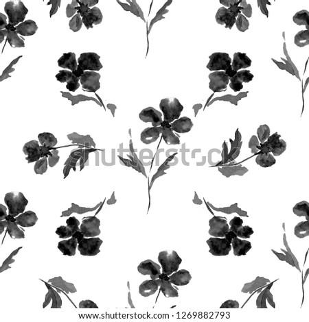 Royalty Free Stock Illustration of Watercolor Seamless