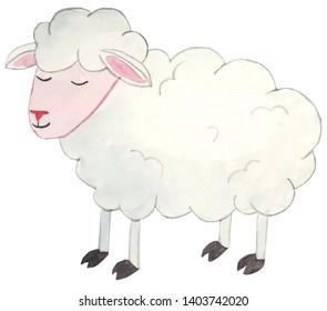 Sheep Clipart Images, Stock Photos & Vectors   Shutterstock