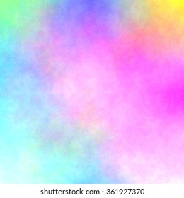 watercolor stained paper texture -  colorful abstract background