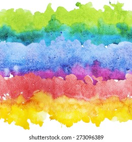 watercolor stripes, abstract, seamless wallpaper, rainbow, background, wallpaper