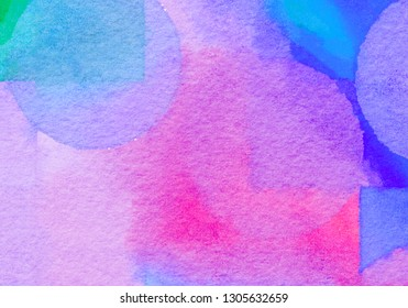Watercolor Sweet pastel. gradient background Colorful Paint like graphic.  Color glossy. Beautiful painted Surface design abstract backdrop. ideas graphic design banner and have copy space for text