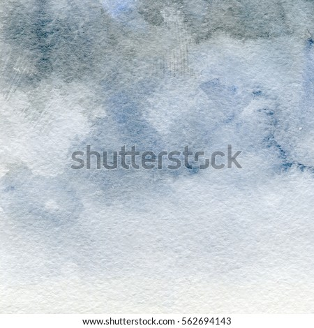 Watercolor Texture Faded Background Old Paper Stock Illustration