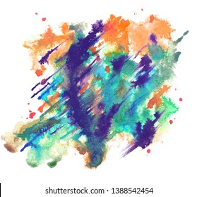 Watercolor texture for your design