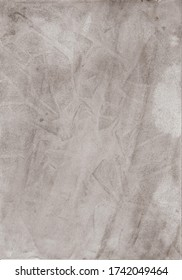 Watercolor wash background in grey